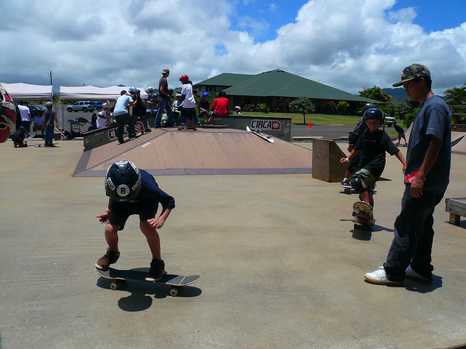 Kids Learning How To Ollie Better