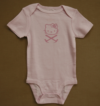 Hello Kitty CorssHammer Onesie